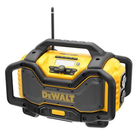Купить инструмент DeWALT Зарядное устройство-радиоприемник DeWALT DCR027 фирменный магазин Украина. Официальный сайт по продаже инструмента DeWALT